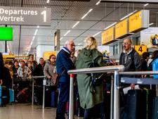 Betere dag voor reizigers op Schiphol