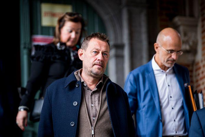Bart De Pauw in de rechtbank van Mechelen.
