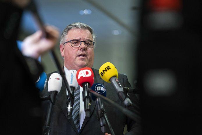 Voorzitter Hubert Bruls van het Veiligheidsberaad.