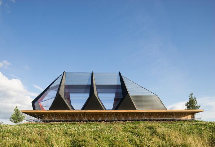 16. Paviljoen KAPKAR/SF-P7S aan de Oosterhoutsedijk in Lent Architectenbureau: Studio Frank Havermans.  Opdrachtgever: Fabrikaat.