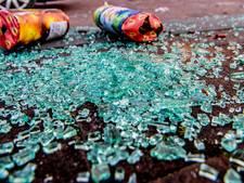 Twaalf afvalbakken en drie banken sneuvelen tijdens jaarwisseling in gemeente Geertruidenberg