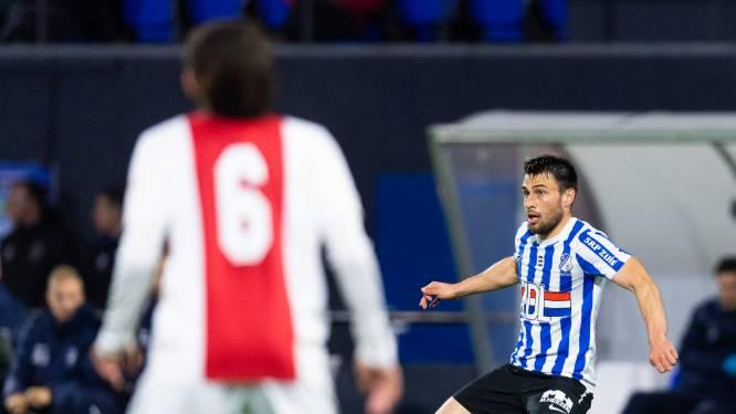 Rácz laat geplande vreugdesalto maar even zitten bij verlies FC Eindhoven: 'We moesten snel verder'