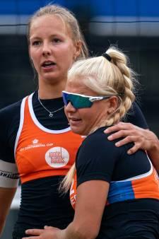 Beachvolleybalsters Stam en Schoon naar Spelen