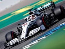 Lewis Hamilton prend les commandes en Allemagne, la 87e pole de sa carrière.