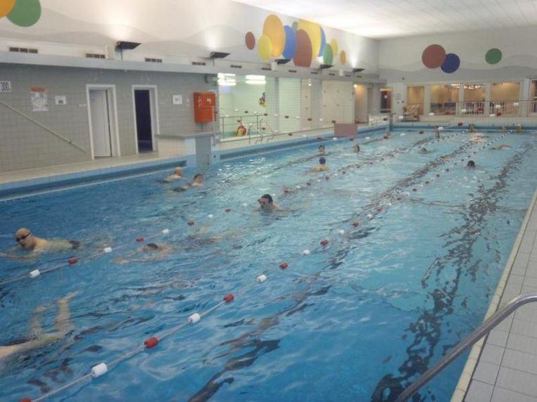 Het zwembad is al vijftig jaar oud.