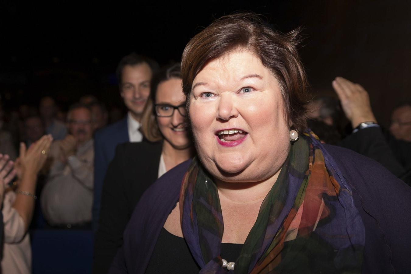 Minister Maggie De Block (Open Vld).