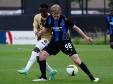 Bruges s'incline face à Utrecht en match amical