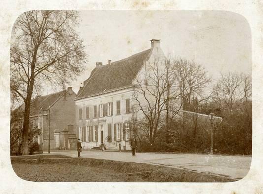 Huis Rijck in Zevenaar omstreeks 1900.