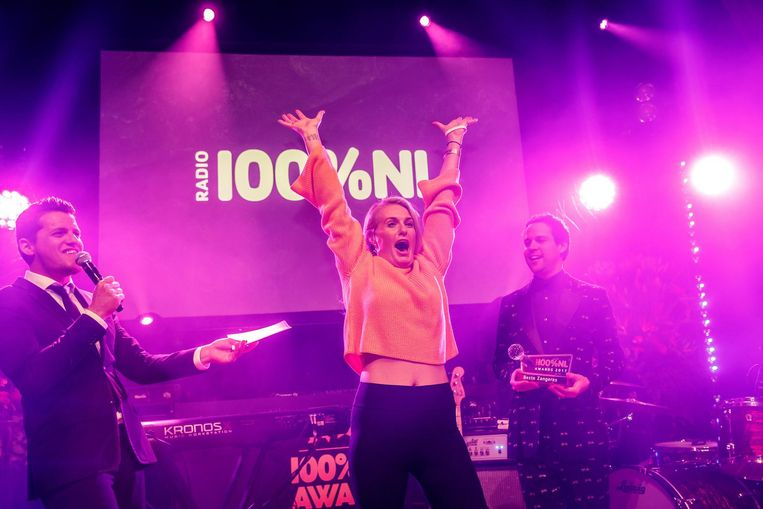 De award voor Beste zangeres ging naar Miss Montreal Beeld anp