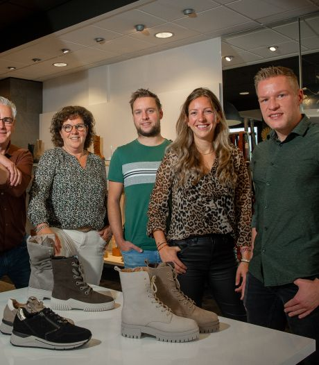 De familie Verploegen verkoopt al 50 jaar schoenen, maar blijft veranderen