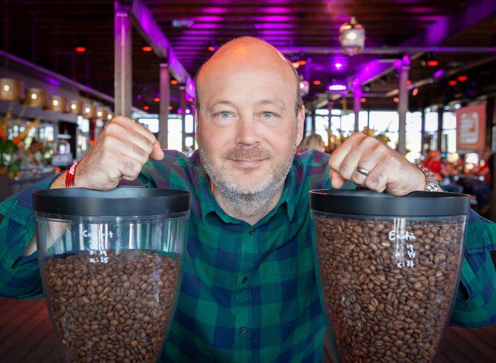 Norman Mazel (47) is misschien wel een van de beste koffieproevers van Europa