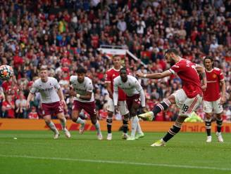 Doldwaas slot nekt United en Ronaldo: Hause kopt Aston Villa naar grote stunt, Fernandes mist strafschop