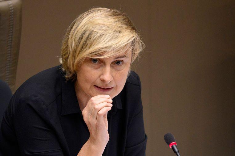 Vlaams minister van Werk Hilde Crevits (CD&V). Beeld Photo News