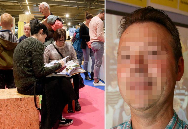 Archiefbeeld. Boekenbeurs Antwerpen en verdachte Dirk L.