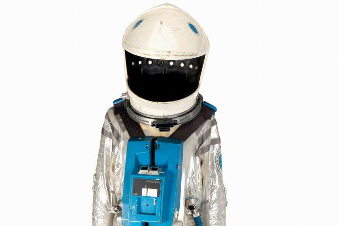Het ruimtepak dat de Amerikaanse acteur Keir Dullea droeg als astronaut David Bowman in het science fiction-epos 2001: A Space Odyssey.
