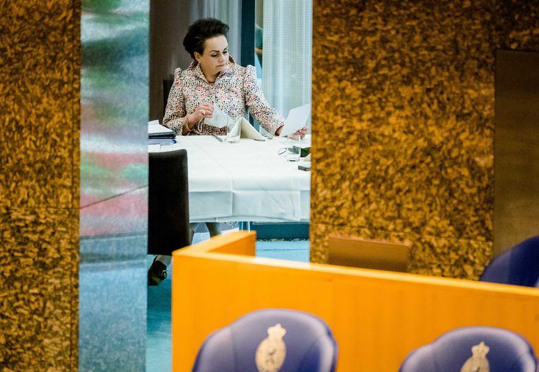 Demissionair staatssecretaris Alexandra van Huffelen (Toeslagen) Beeld ANP