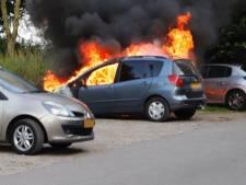 Na dagje aan het water zien eigenaren dat hun nieuwe auto is uitgebrand in Linden