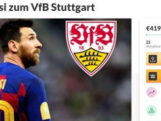 Legt u een euro bij? Stuttgart-fan start fundraiser van 900 miljoen euro op om Lionel Messi binnen te hengelen