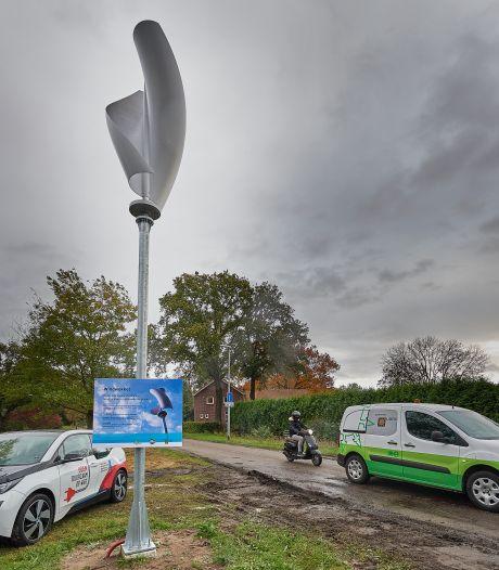 Windwokkel op een sokkel biedt Uden nieuw energieperspectief