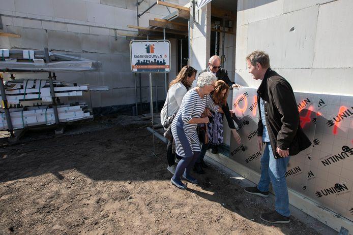 De start van een zelfbouwproject in Eindhoven.