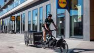 Lidl gaat nog meer per fiets aan huis leveren