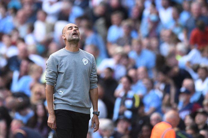 Manchester City-trainer Pep Guardiola.