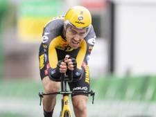 LIVE | Tom Dumoulin onderweg in klimtijdrit Ronde van Zwitserland, kan hij zich meten met toppers?