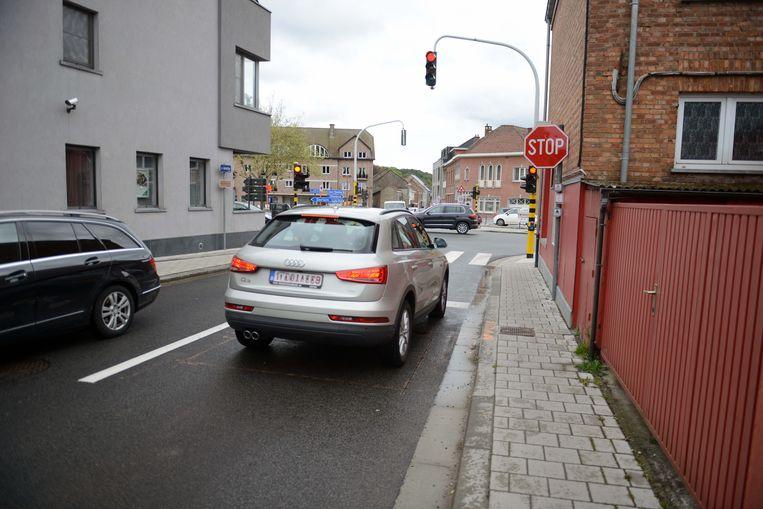 Nieuwe verkeerssituatie in centrum Huldenberg.