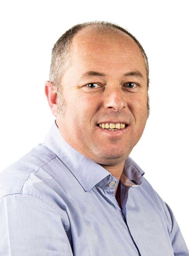Bert Verbessem, woordvoerder van de Group Jost