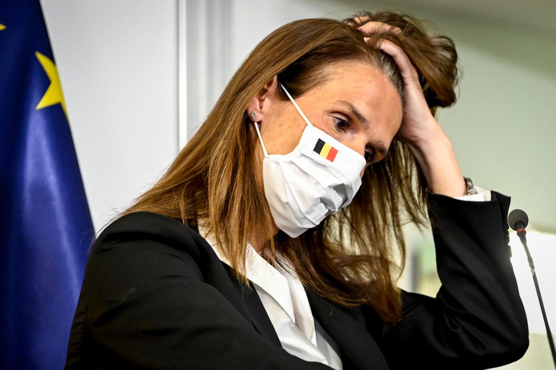 Primier Wilmès. Beeld EPA