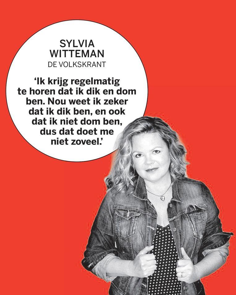 Sylvia Witteman, de Volkskrant Beeld
