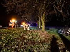 Automobilist belandt in sloot in Lelystad