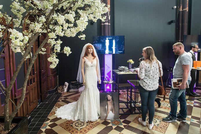 hotel nassau opent zijn sfeervolle deuren voor orienterende bruidsparen met diverse stands vol inspiratie.