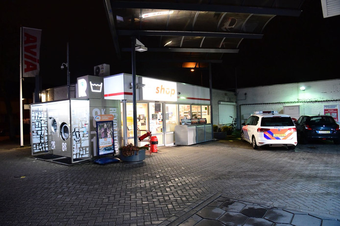 Overval op Avia-tankstation in Eindhoven