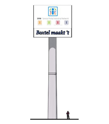 Soap rond reclamezuil Boxtel: voorlopig geen mast langs A2
