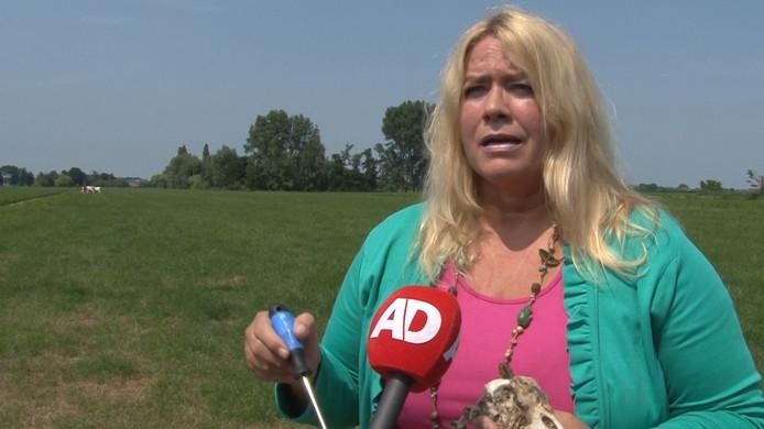 Saskia van Rooy uit Stolwijk is vrijgesproken van het stalken van zwanendrifters.