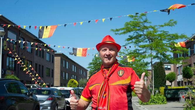 """Kardinaal Cardijnlaan kleurt zwart-geel-rood: """"Wat men in Nederland kan, kunnen wij ook"""""""