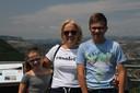 Nicole Peters uit Eindhoven met haar kinderen. Haar vakantie is door corona opeens onzeker.