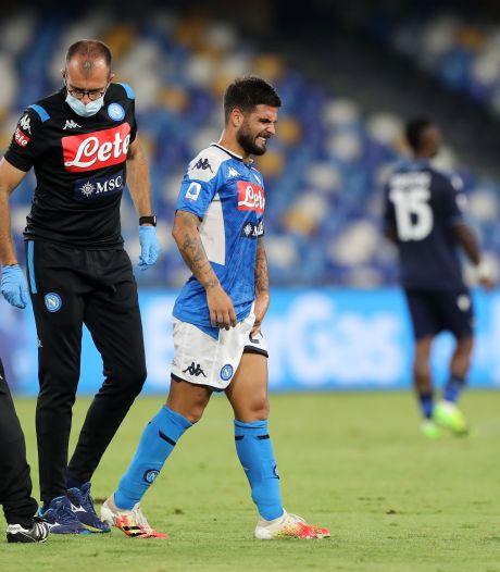 Napoli wellicht zonder Insigne tegen Barcelona