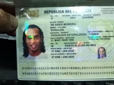 Ronaldinho toch de cel in voor vals paspoort Paraguay