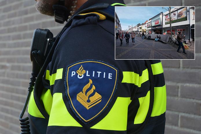 De man die mensen in onder meer de Hamburgerstraat in Doetinchem (inzet) achtervolgde, is voorlopig van de straat.