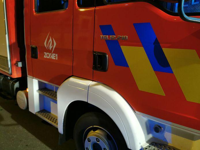 De brandweer had de situatie uiteindelijk snel onder controle.
