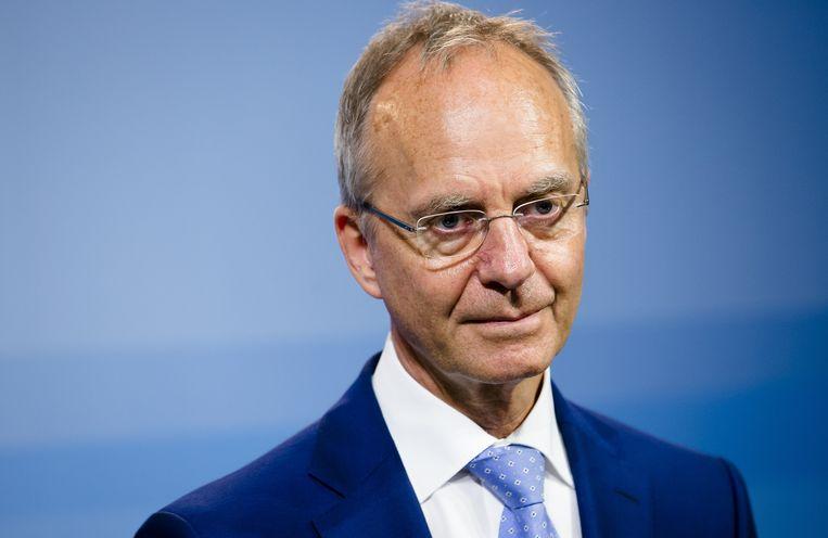 Henk Kamp: minder Gronings gas gewonnen. Beeld anp