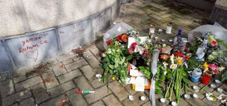 Vrienden van Damian (21) leggen bloemen en boodschappen neer op plaats van ongeluk