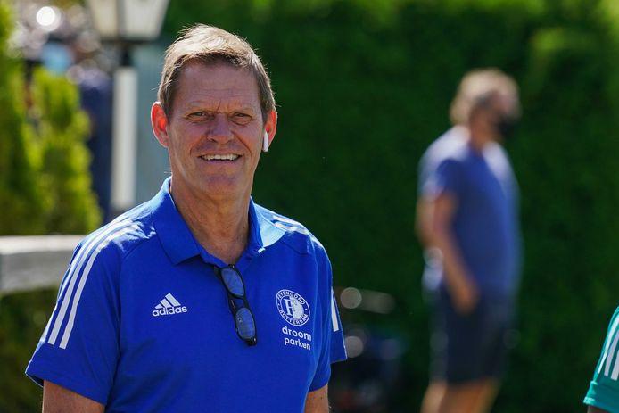 Frank Arnesen is tegenwoordig sportief directeur bij Feyenoord.