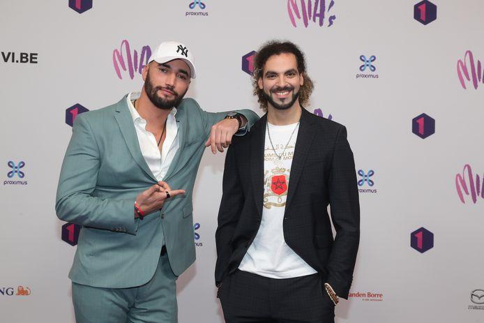 Bilall Fallah en Adil El Arbi. Het broertje van Adil zal een hoofdrol gaan spelen in 'Rebel'