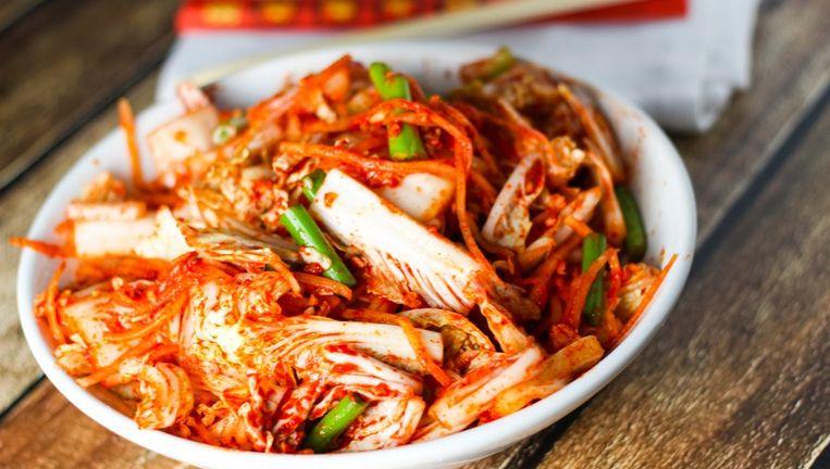 Jun Park leert je Kimchi te bereiden tijdens haar workshop Beeld Web-upload