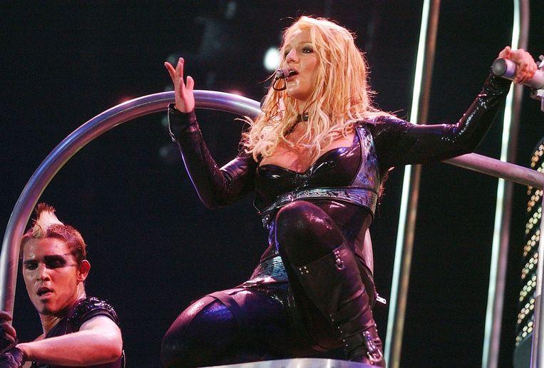 Britneys vader Jamie zou aan haar concertreeks in Las Vegas ruim 2 miljoen dollar hebben overgehouden.  Beeld EPA