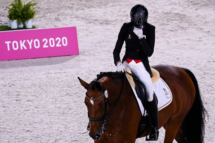 Michèle George et Best Of 8 ont collecté deux titres paralympiques à Tokyo.