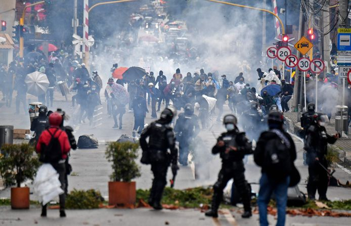 Bogota, Colombie (1er mai 2021)